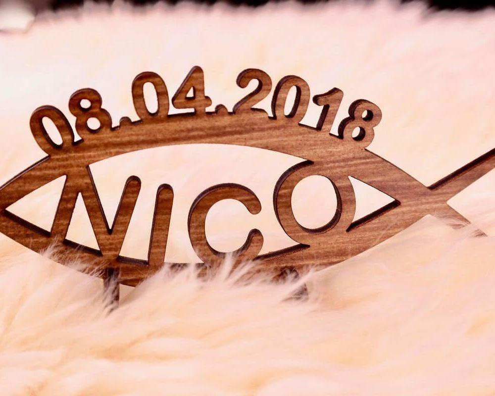 Kommunionsgeschenk   Holz- Geschenk zur Kommunion Konfirmation