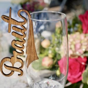 Bestseller 5 edle Tischkarten Platzkarten Namensschilder Hochzeit