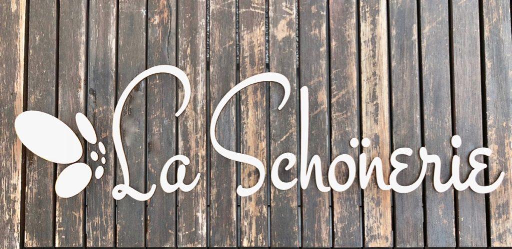 Firmenlogos Logo aus Holz / Acryl – Buchstaben, Zahlen & mehr