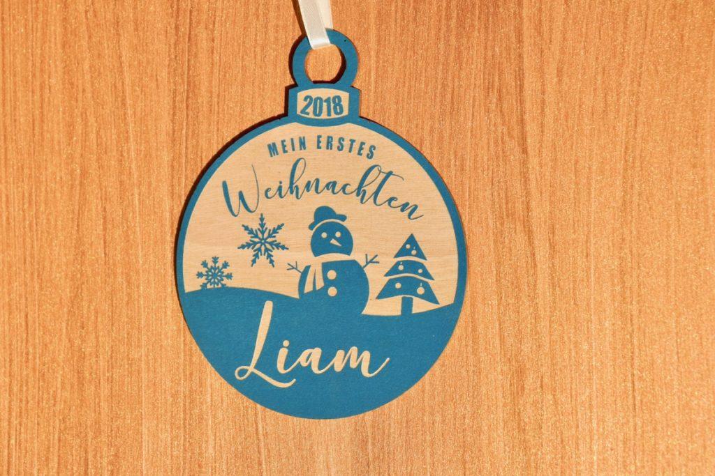 Geburt Weihnachtskugel – Mein erstes Weihnachten – wunderschöne Erinnerung