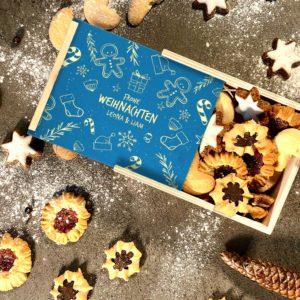 Lieblingskiste Die Keks-Kiste – Zeichnung zu Weihnachten