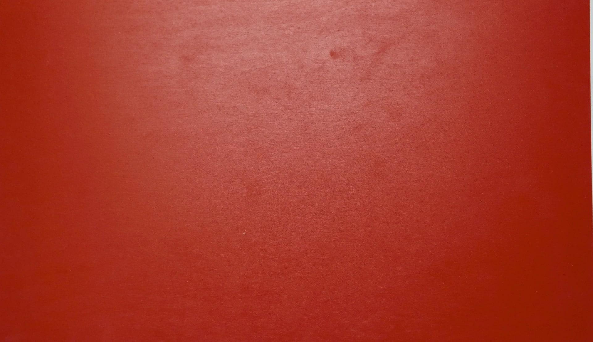 Schriftzug Holz Rot