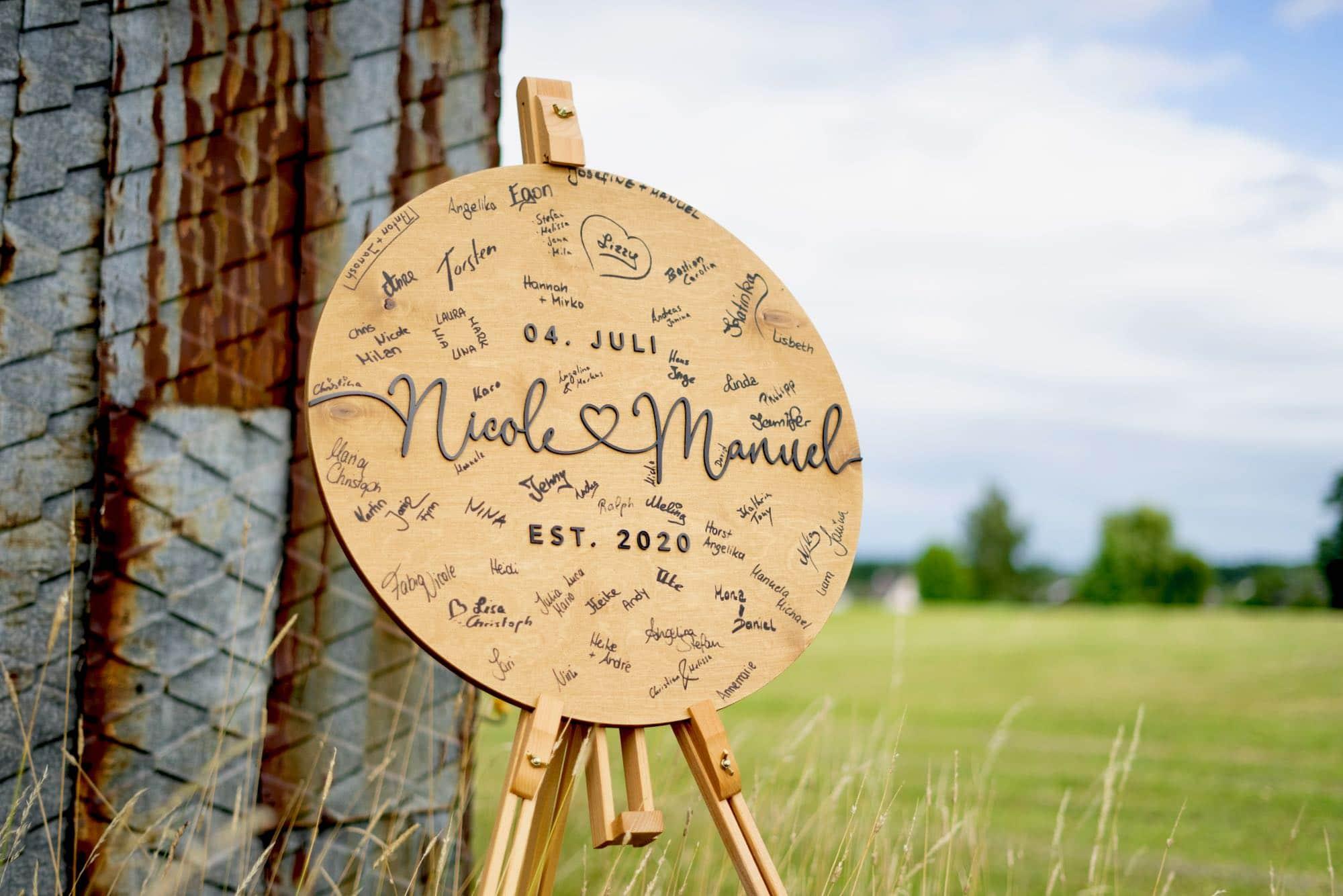 Glaube Dekoration zur Kommunion / Konfirmation aus Holz – Christliche Fische