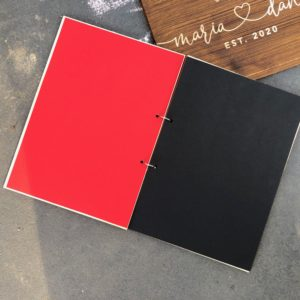 Dekoration Geschützt: Gästebuch mit 75 Blatt