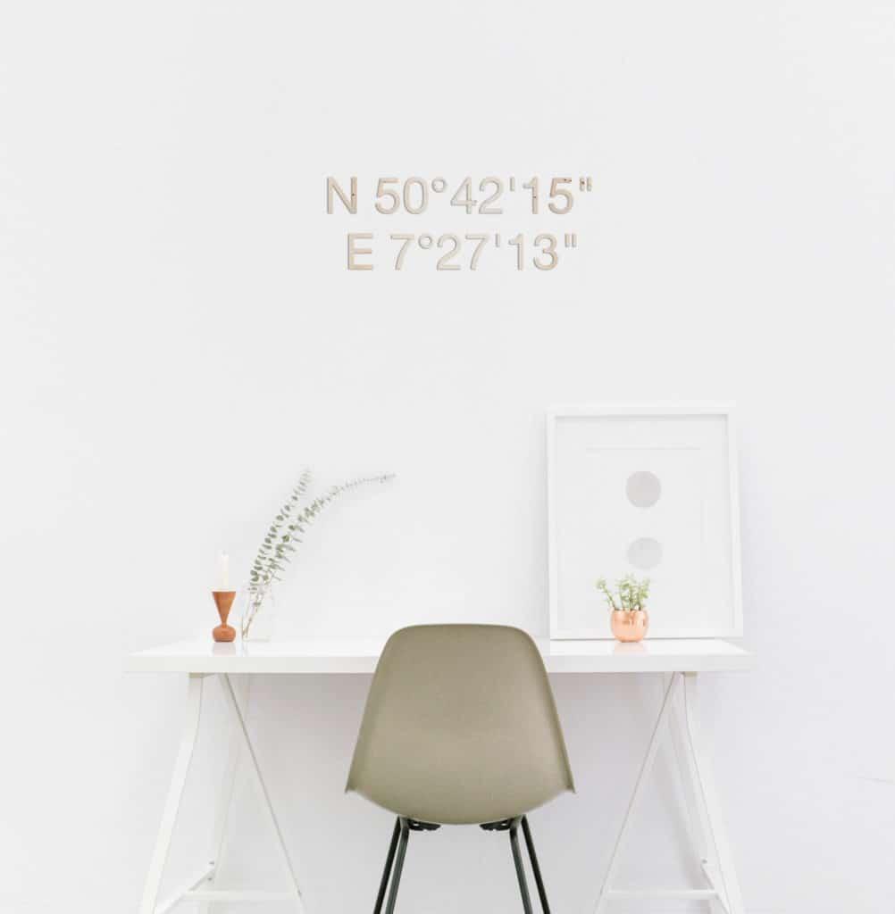 Bestseller Schriftzug Ellenbogen vom Tisch! – Holz 80cm