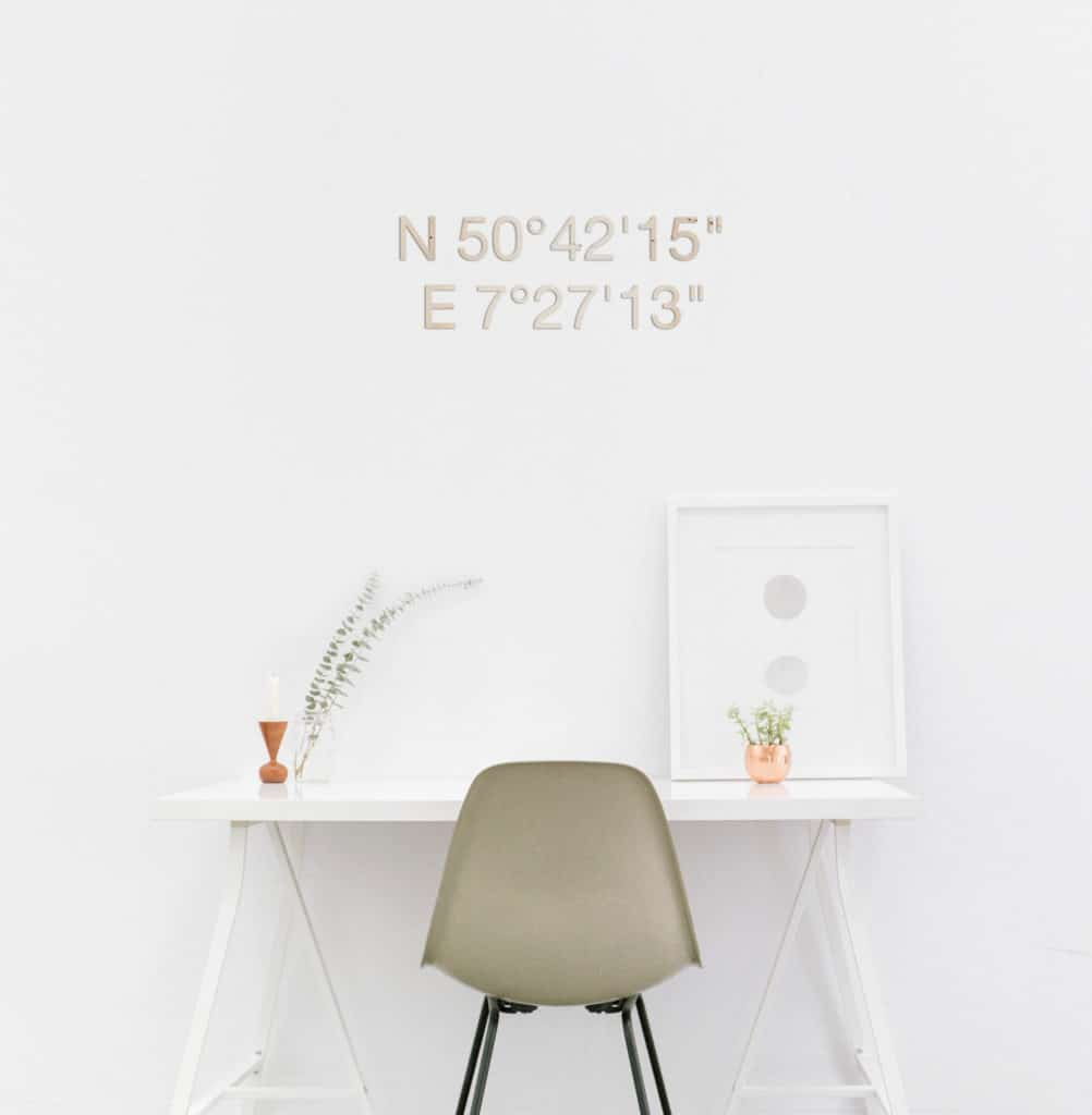 "Angebot Geschützt: Logo ""objective"" aus Acrylglas"
